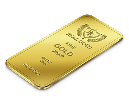Золотой слиток 500г