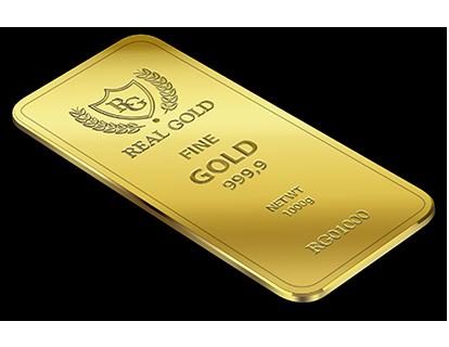 1.000 Gram Gold bar