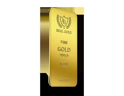 Золотой слиток 100г